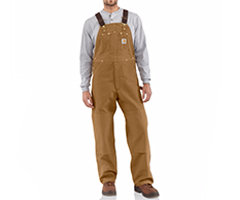 Carhartt Duck Bib Overall/Unlined